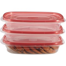 Rubbermaid® Takealongs Set of 3 Food Tupperwares - 950 ml