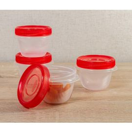 Rubbermaid® Takealongs Set of 4 Food Tupperwares - 284 ml