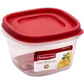 Rubbermaid® Easyfindlids Food Tupperware - 473 ml