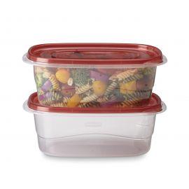 Rubbermaid® Takealongs Set of 2 Food Tupperwares - 1.8L