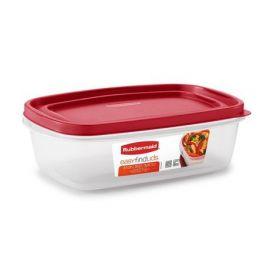 حافظة طعام سعة 2 لتر من Rubbermaid® EasyFindLids