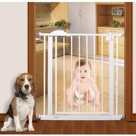 بوابة أمان للأطفال من Baby Safe - أبيض