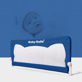 Baby Safe Baby Bedrail - Blue
