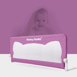 Baby Safe Baby Bedrail - Purple