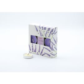 ARMN Relaxing Set of 18 Scented Tea Light Candles - Lavender