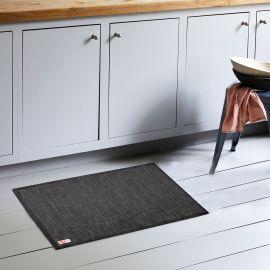 ARMN Luxe 60x90 cm Kitchen Rug - Black