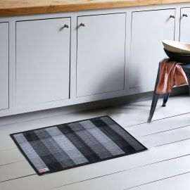 ARMN Luxe 60x90 cm Kitchen Rug - Gray