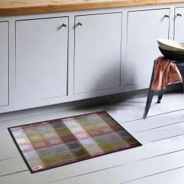 ARMN Luxe 60x90 cm Kitchen Rug - Red