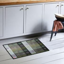ARMN Luxe 60x90 cm Kitchen Rug - Green