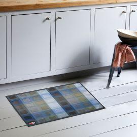 ARMN Luxe 60x90 cm Kitchen Rug - Blue