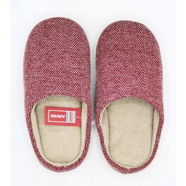 ARMN Comfy Burgundy Indoor Slippers - Size 39-40