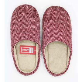 ARMN Comfy Burgundy Indoor Slippers - Size 41-42