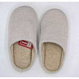 ARMN Comfy Gray Indoor Slippers - Size 41-42