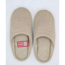 ARMN Comfy Brown Indoor Slippers - Size 43-44