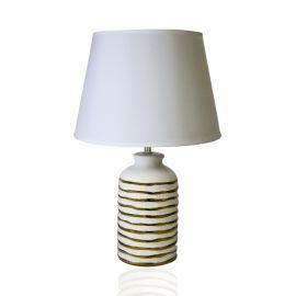 ARMN Gravity Table Lamp - White & Gold