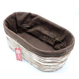 ARMN Kouboo Large Oval Towel Basket - Coffee