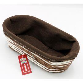 ARMN Kouboo Small Oval Towel Basket - Coffee