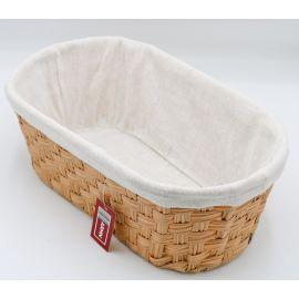 ARMN Kouboo Large Oval Towel Basket - Beige