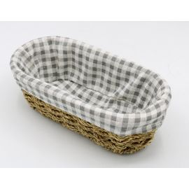 ARMN Kouboo Small Oval Towel Basket - Beige