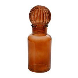 ARMN Small Decorative Glass Bottle - Hazel