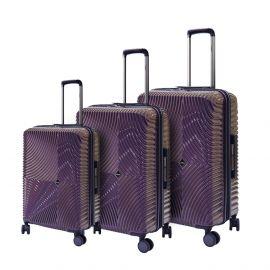 طقم من 3 حقائب سفر من ARMN Centric - بنفسجي