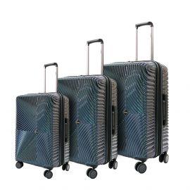طقم من 3 حقائب سفر من ARMN Centric - أخضر مائل للأزرق