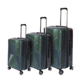 طقم من 3 حقائب سفر من ARMN Centric - أخضر