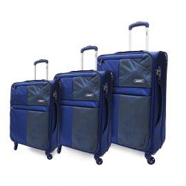 طقم من 3 حقائب سفر من ARMN Flexis - كحلي