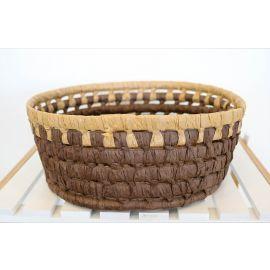 ARMN Java Large Bamboo Basket - Brown