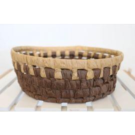 ARMN Java Medium Bamboo Basket - Brown
