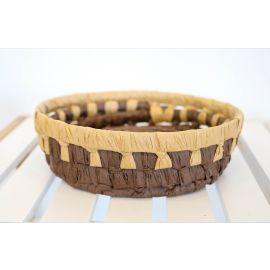 ARMN Java Small Bamboo Basket - Brown