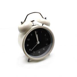 ساعة منبه من ARMN Chelsea - أبيض