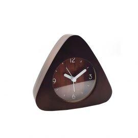 ساعة طاولة مثلثة من ARMN Chelsea - بني