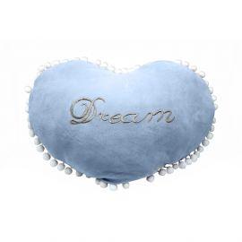 ARMN Hug Me Soft Plush Heart Cushion - Blue