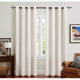 ARMN Eclipse 140 x 265 Single Curtain - White