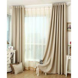 ARMN Eclipse 140 x 265 Single Curtain - Beige