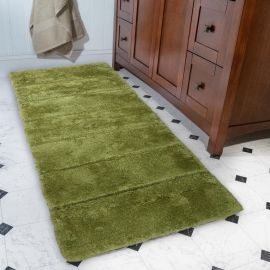ARMN Colormate Green Acrylic Bath Rug - 70 x 140 cm