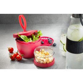 حافظة طعام طبقات من GEFU Foodie - أحمر