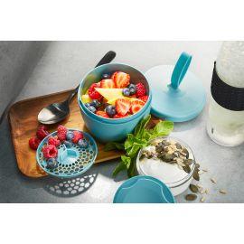 حافظة طعام طبقات من GEFU Foodie - أزرق