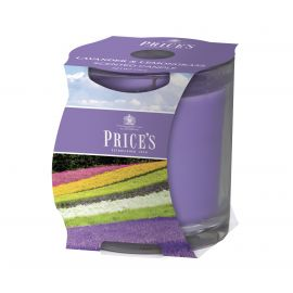 Price's Scented Candle Cluster - Lavender & Lemongrass