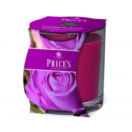 Price's Scented Candle Cluster - Damson Rose