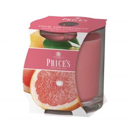 Price's Scented Candle Cluster - Pink Grafruit