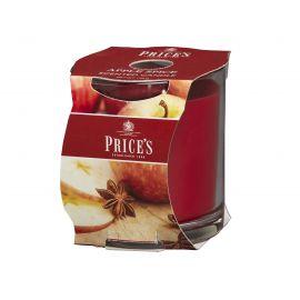 شمعة معطرة بكوب من Price's - بهارات التفاح