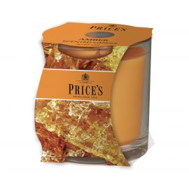 شمعة معطرة بكوب من Price's - العنبر