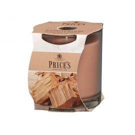 شمعة معطرة بكوب من Price's - خشب الصندل