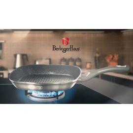 Berlinger Haus Metallic Carbon Grill Pan - 28 cm