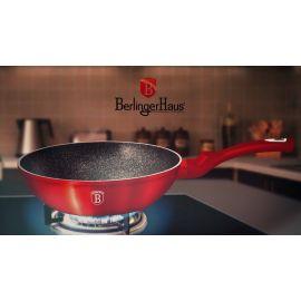 Berlinger Haus Metallic Burgundy Wok - 28 cm