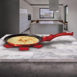 Berlinger Haus Metallic Burgundy Pancake Pan - 25 cm