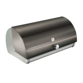 Berlinger Haus Metallic Carbon Bread Box