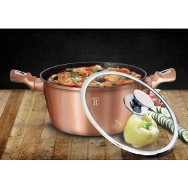 Berlinger Haus Rose Gold Edition Casserole with Lid - 20 cm